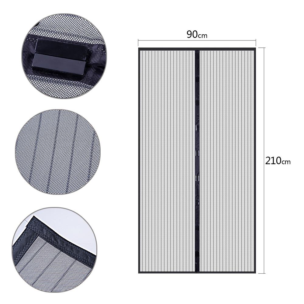 insektenschutz vorhang t r magnet magnetvorhang netz fliegengitter balkont r de ebay. Black Bedroom Furniture Sets. Home Design Ideas