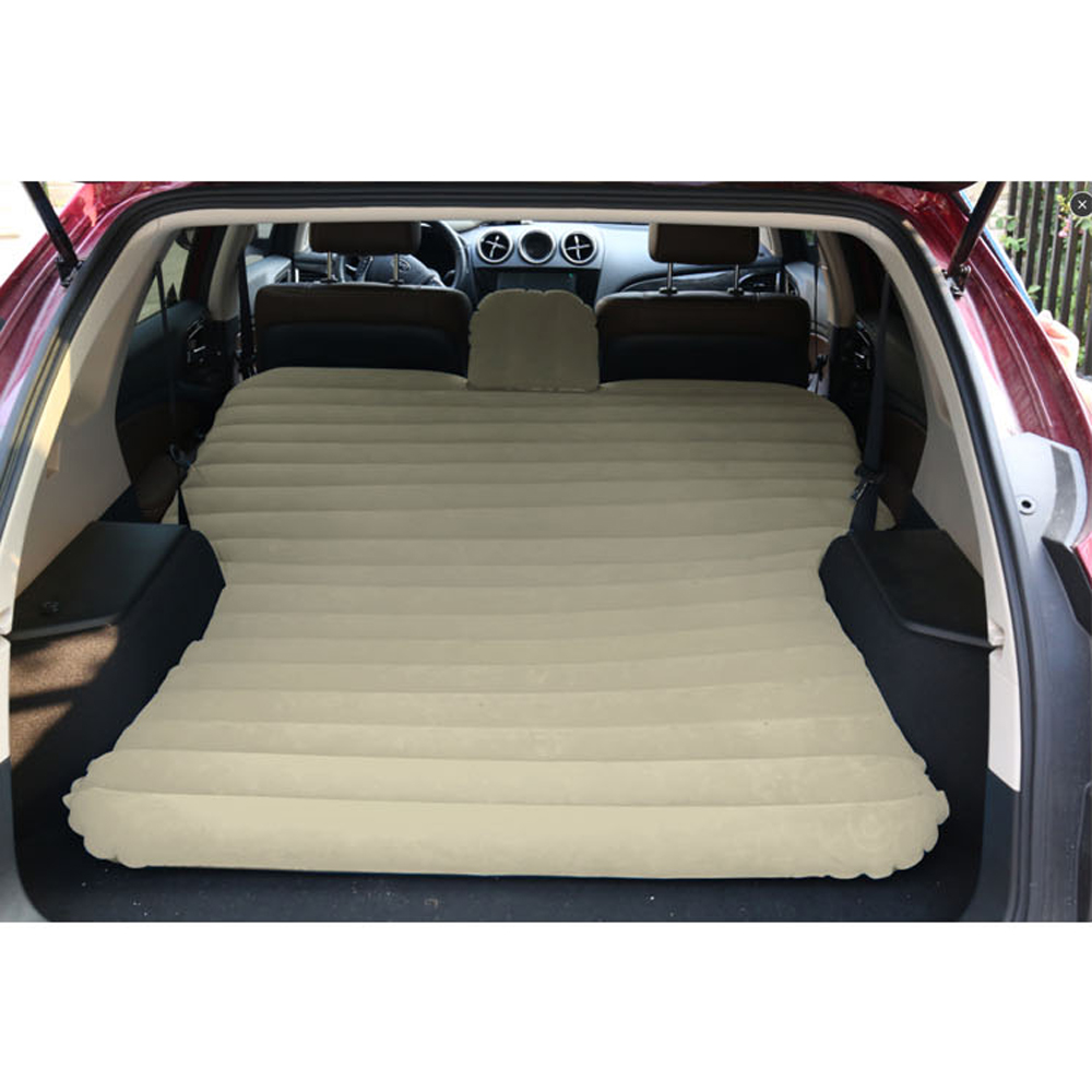 suv auto luftmatratze f r camping luftbett pvc matratze mit pumpe aufblasbar neu ebay. Black Bedroom Furniture Sets. Home Design Ideas