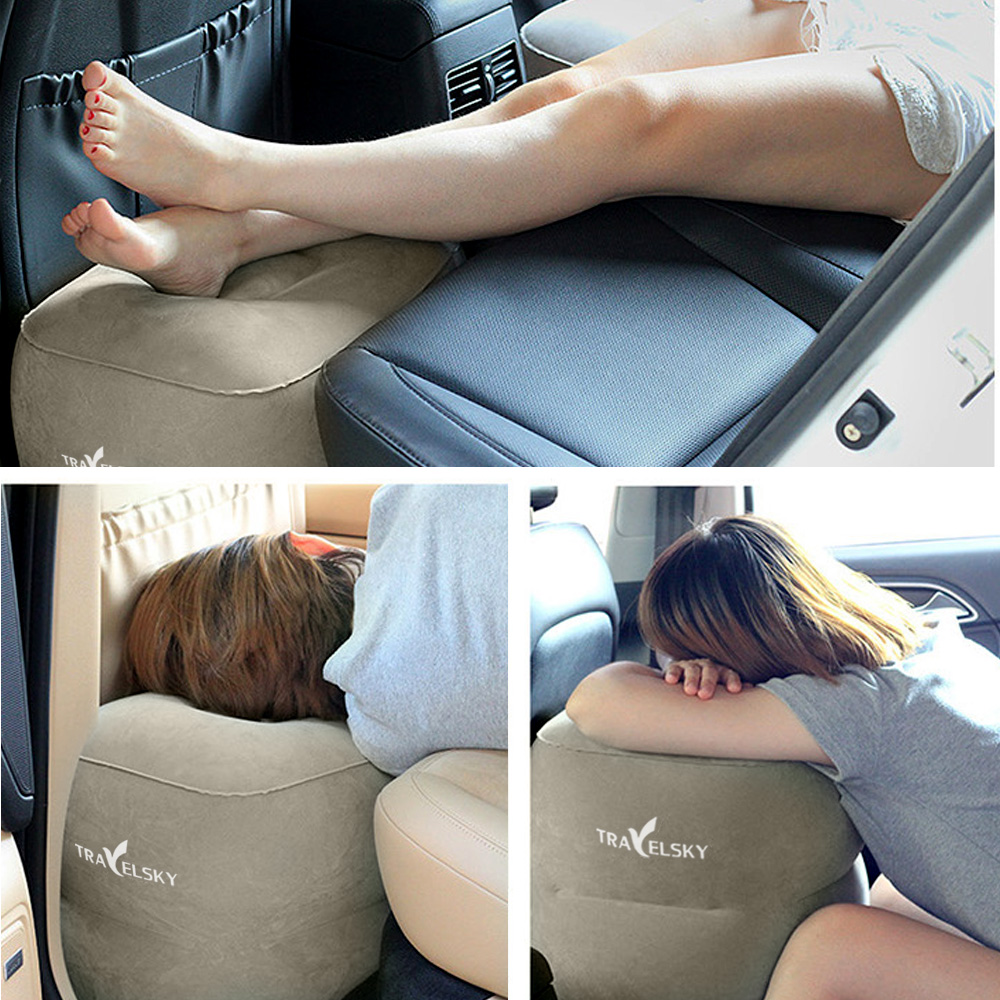 Inflatable Beds With Legs: Travel/Airplane Pillow For Leg/Foot Rest, Inflatable Multi
