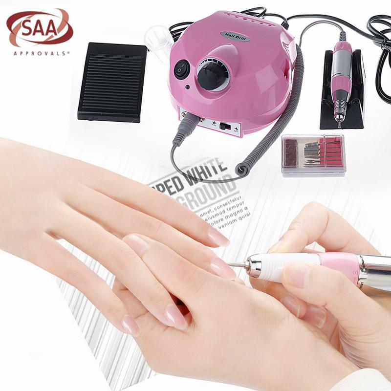 Pro 30000RPM Electric Nail Drill Machine Acrylic Nails Art Manicure ...