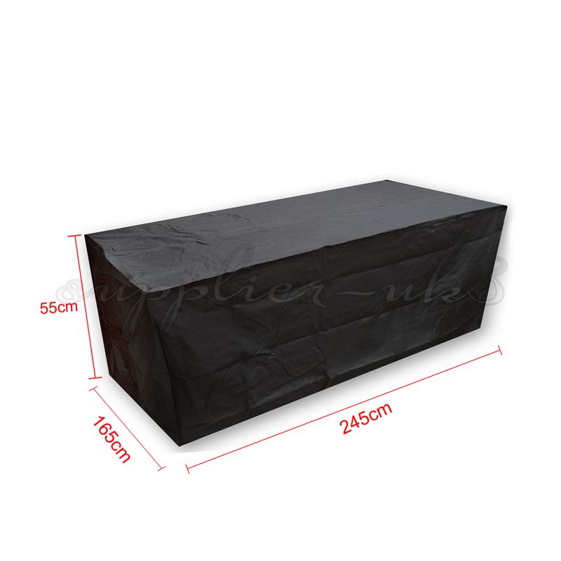 Outdoor waterproof patio furniture set cover covers table for Patio furniture covers xl