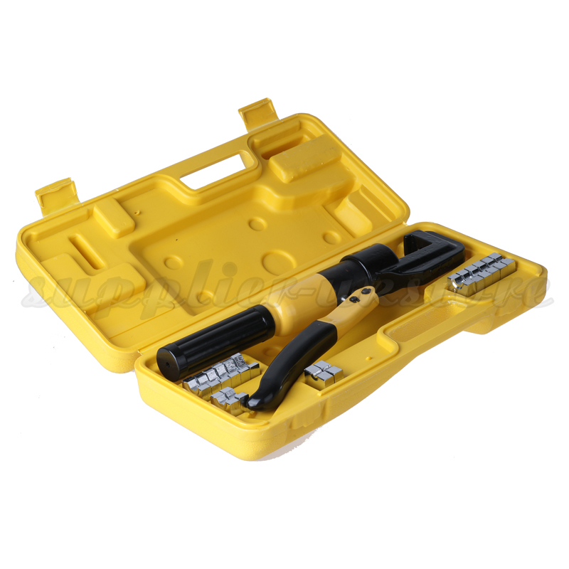 Hydraulic Crimper Tool Kit Tube Terminals Lugs Battery